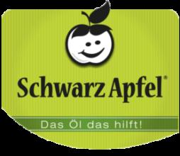 Logo Schwarz Apfel