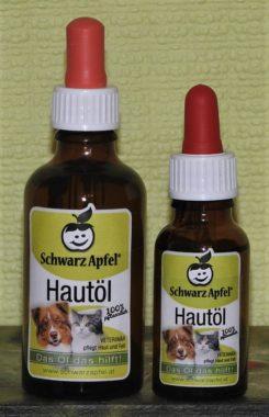 SchwarzApfel® Hautöl