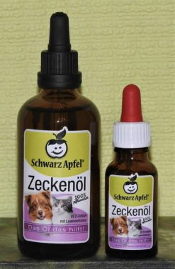 SchwarzApfel® Zeckenöl